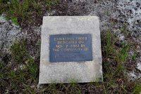 Christmas tree dedication plaque
