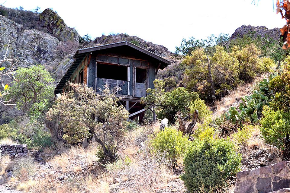 Boyd's Sanatorium Along Dripping Springs Trail, Desert Peaks National Monument