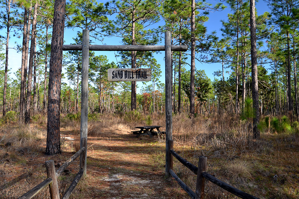 Silver Springs State Park Trail Entrance