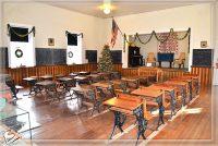 Inside Preserved One Room Schoolhouse at Tubac Presidio