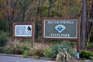 Entrance to Silver Springs State Park along NE 58, FL Highway 35