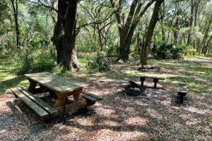 Picnic and Camping Area at Ocklawaha Prairie Restoration Area
