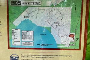 Map Overview of Newnan's Lake Restoration Area