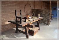 Preserved Wood Workbench