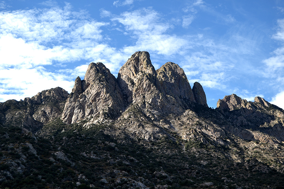 Eastern Face of the Organ Mountains, Dona Ana