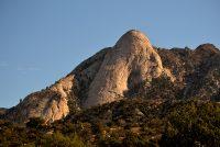 Organ Mountain Peak from Pine Tree Trail Loop