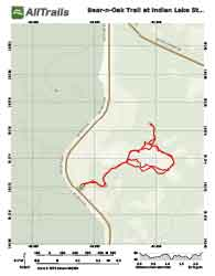 PDF Trail Map at Indian Lake, Marion County