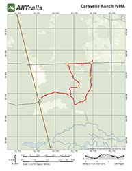 PDG Map for Caravelle Ranch WMA, Palatka, Florida