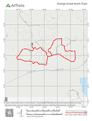 Orange Creek North Tract Map