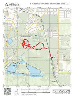 PDF Trail Map of Sweetwater Preserve