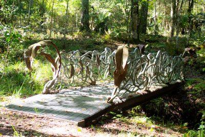 Metal Walking Bridge
