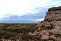 Courthouse Rock near Bridgeport, Nebraska