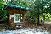 Parking at Carl Duval Moore State Forest