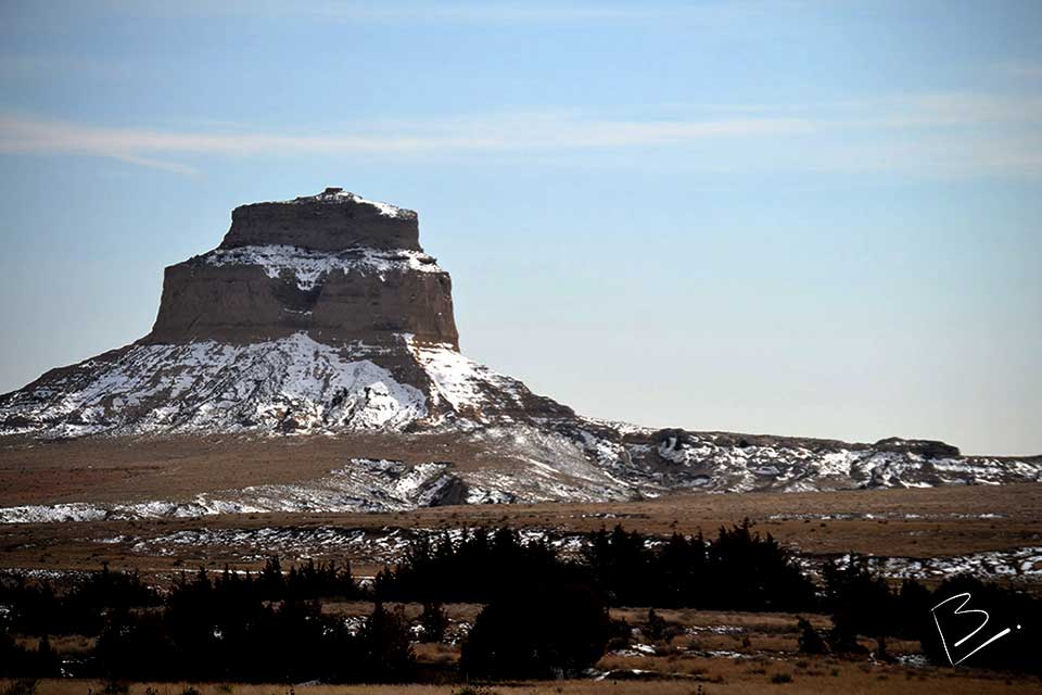 Scotts Bluff National Monument in Western Nebraska