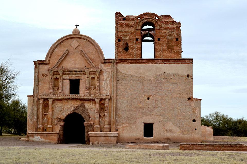 Tumacacori Mission, Near Tuscon