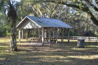 Picnic Pavilion at Johns Landing Trail