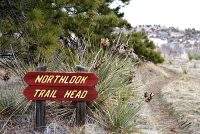 Northlook Trail Sign at Wildcat Hills