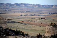 Wide Vista of Farmlands